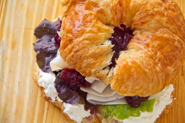 Turkey Cranberry Cream Cheese Sandwich