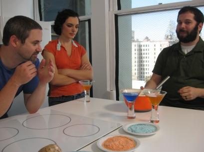 Making Cocktails on 'Sci Fine Dining'