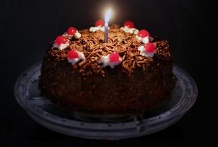 Portal Cake for 'Sci Fine Dining'